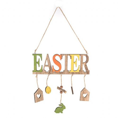 Wooden Hanging Easter Decoration Sign